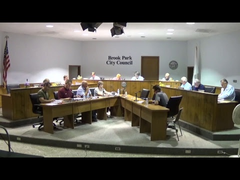 Brook Park Special Council Meeting 09/12/2017
