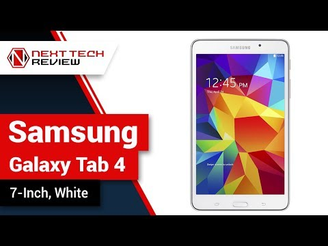 Samsung Galaxy Tab 4 7 Inch White Product Review – NTR