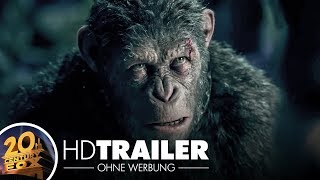 Planet Der Affen Survival Trailer 2 German Deutsch HD 2017