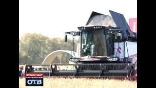 Зерноуборочный комбайн RSM 161 - уборка урожая в Свердловской области