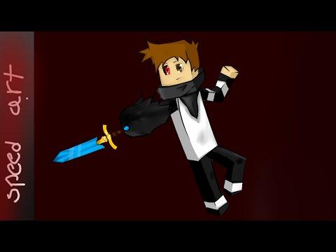 Minecraft Avatar Speedart // innocent