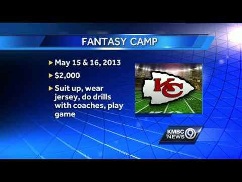 Chiefs plan fantasy camp to aid concussion education program
