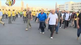 """بالفيديو  """"الدفاع"""" تنشر مقطعا عن مراحل الإعداد البدني والعسكري لطلبة """"الحربية"""""""