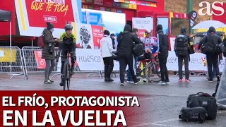 El frío, protagonista al cambiar las fechas: así preparan las carreras en La Vuelta | Diario AS
