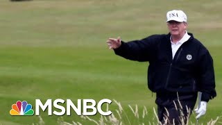Report: Military Flight Redirected To Trump's Foreign Property | The Last Word | MSNBC