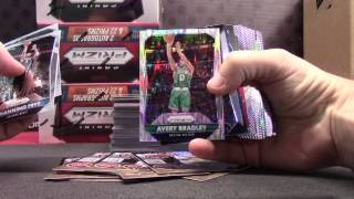 2015/16 Prizm JUMBO 6 Box Break GB ONE  Part 1/2