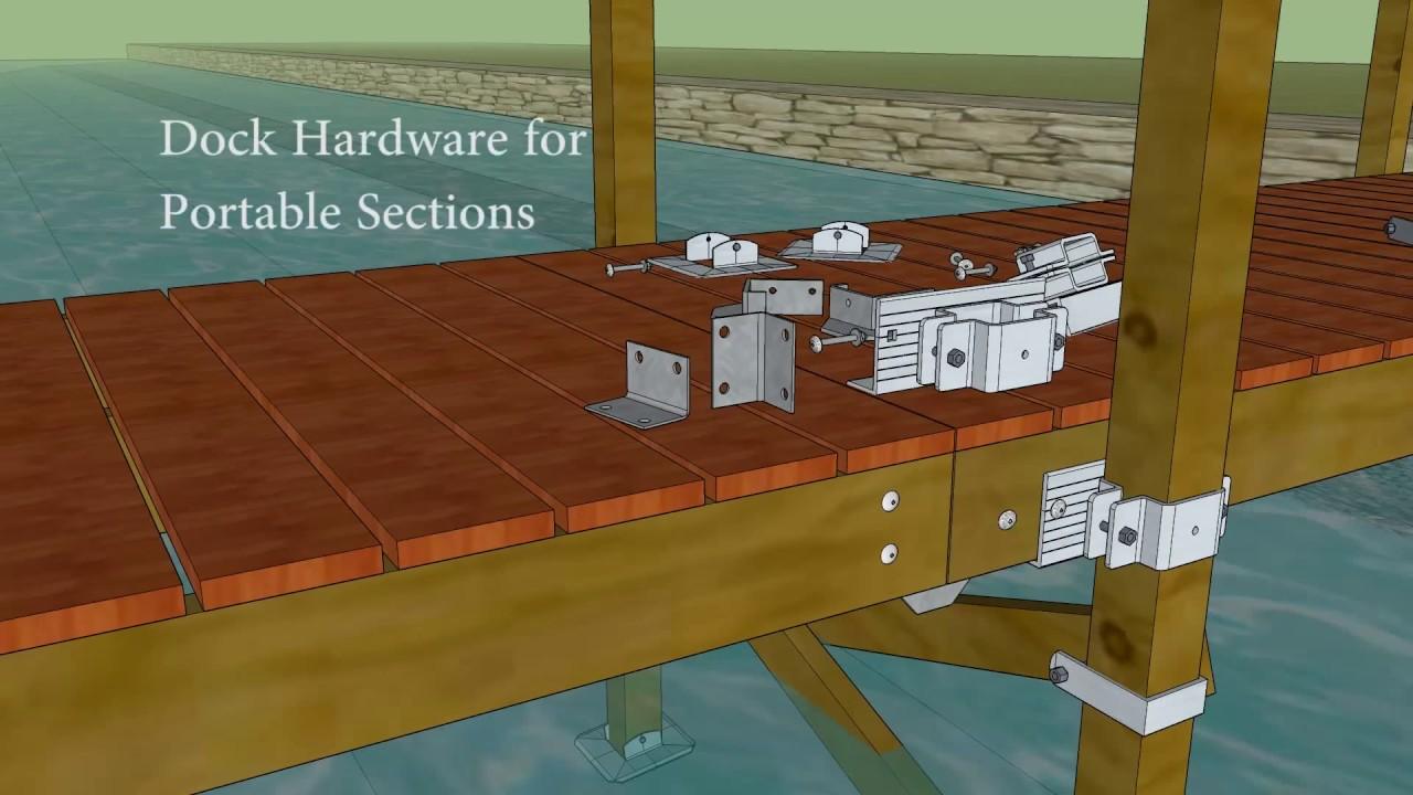 4x4 Post Dock Hardware Youtube