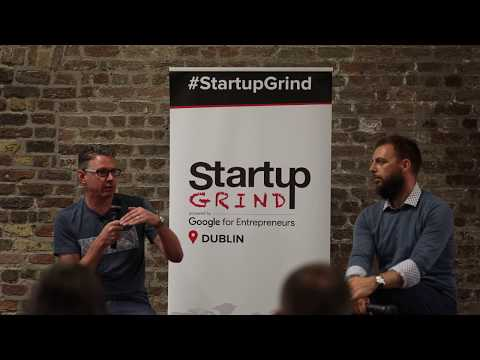 Charles Dowd (Plynk) at Startup Grind Dublin