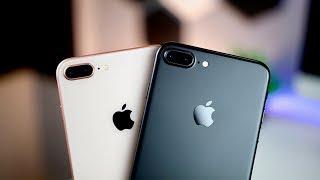 iPhone 8 Plus vs iPhone 7 Plus Camera Comparison