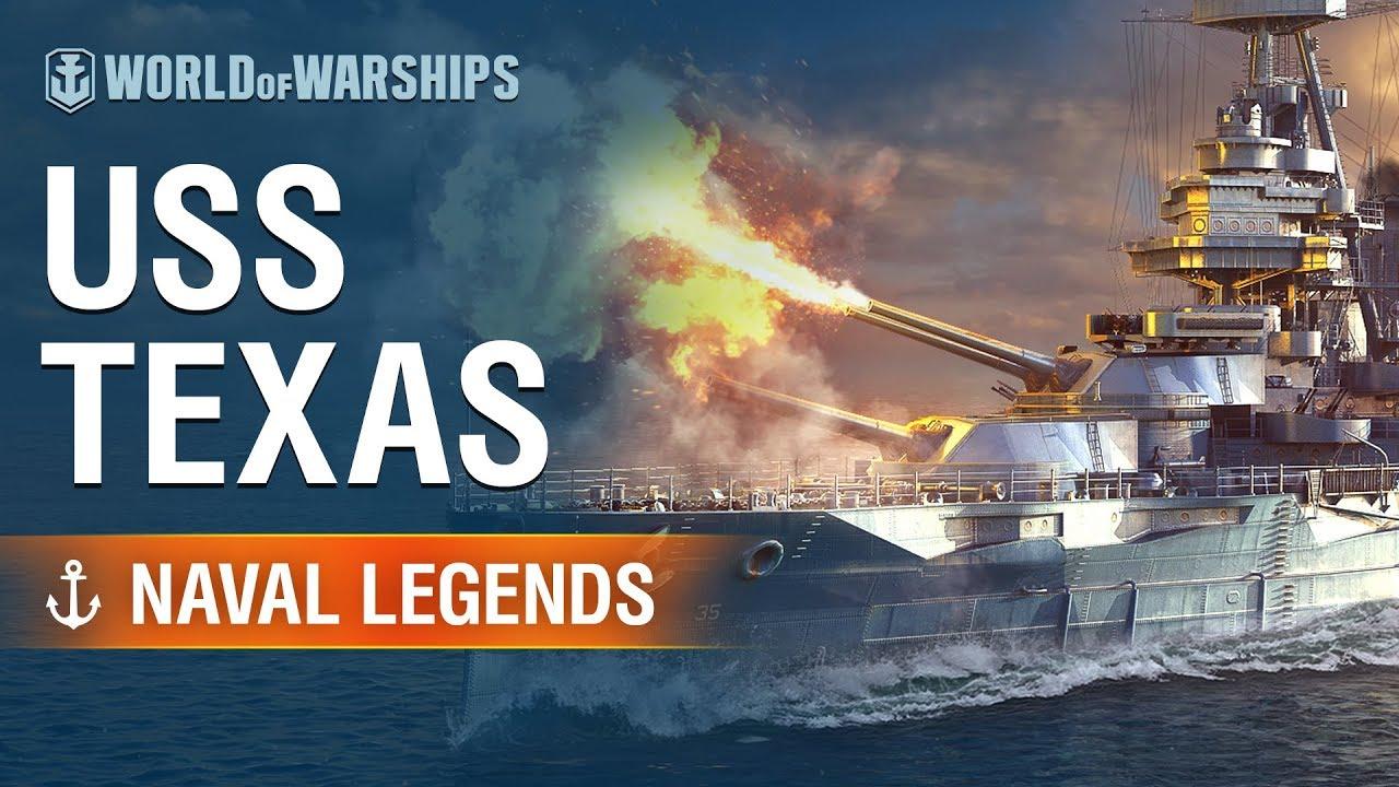 Naval Legends: USS Texas | World of Warships - YouTube