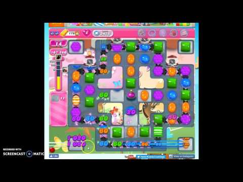Candy Crush Level 2475 help w/audio tips, hints, tricks