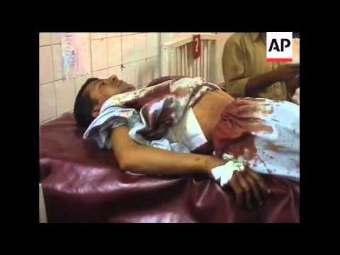 Bomb blast kills 9 civilians, incl 3 children, hospital, police sot