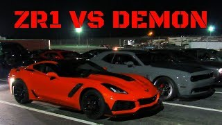 New zr1 vs Dodge Demon