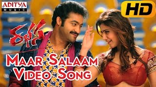 Maar Salaam Full Video Song || Rabhasa Video Songs || Jr Ntr, Samantha, Pranitha