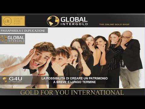 Global InterGold Italia Nuova Videopresentazione Ufficiale offerta da G4U International