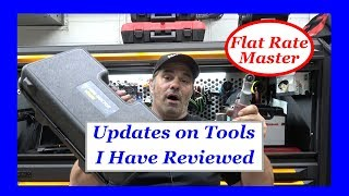 Updates on Many Tools I Have Reviewed