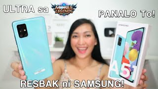 SAMSUNG A51 : PRISM CRUSH BLUE (UNBOXING & FULLREVIEW)