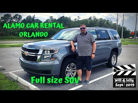 CHEVROLET TAHOE Rental Car | ALAMO | Orlando Airport REVIEW