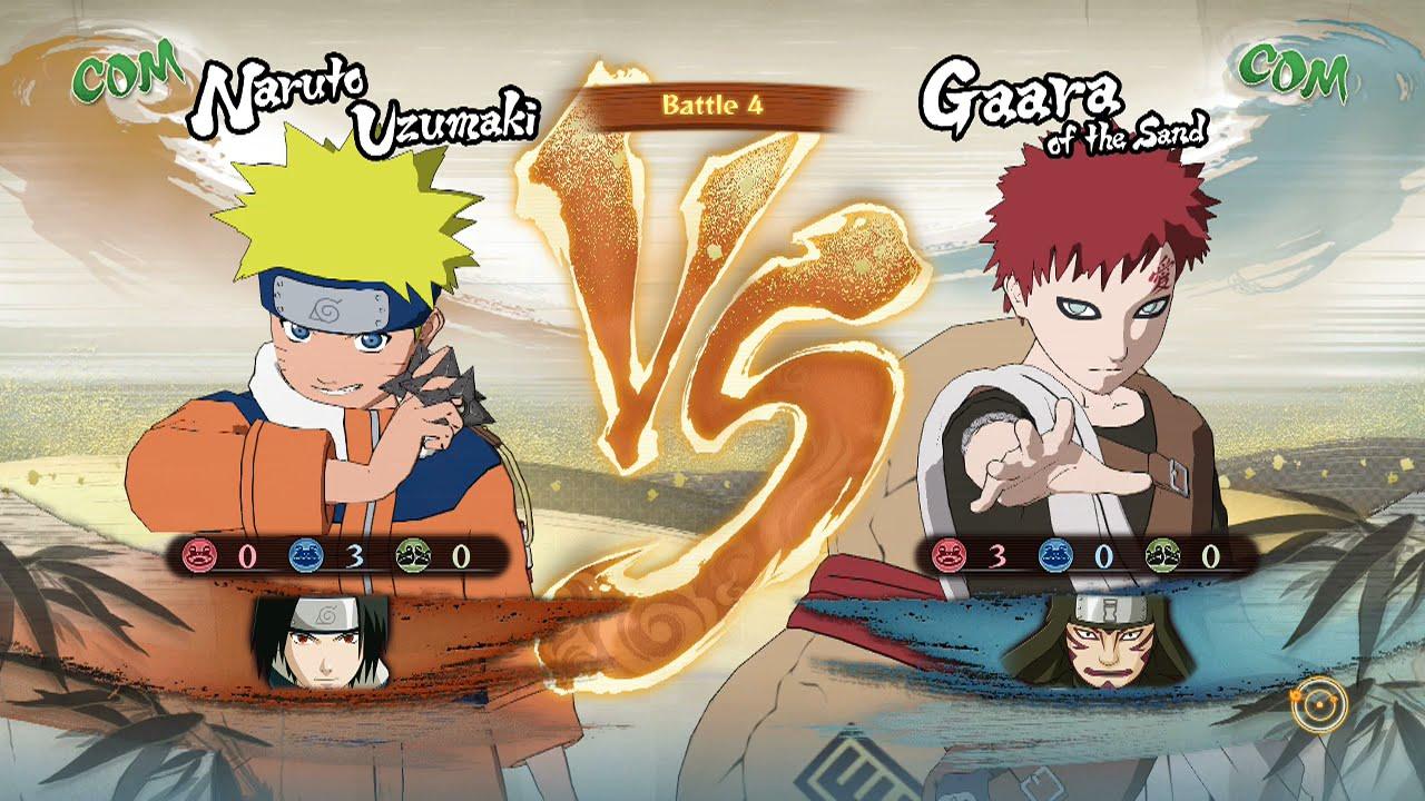 Naruto Shippuden: Ultimate Ninja Storm 4, Naruto & Sasuke ... Gaara And Naruto Kids