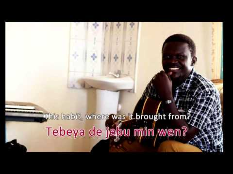 Akulu aragan ta zol [Isaka Number One] -South Sudan Music | karaoke, English subtitles