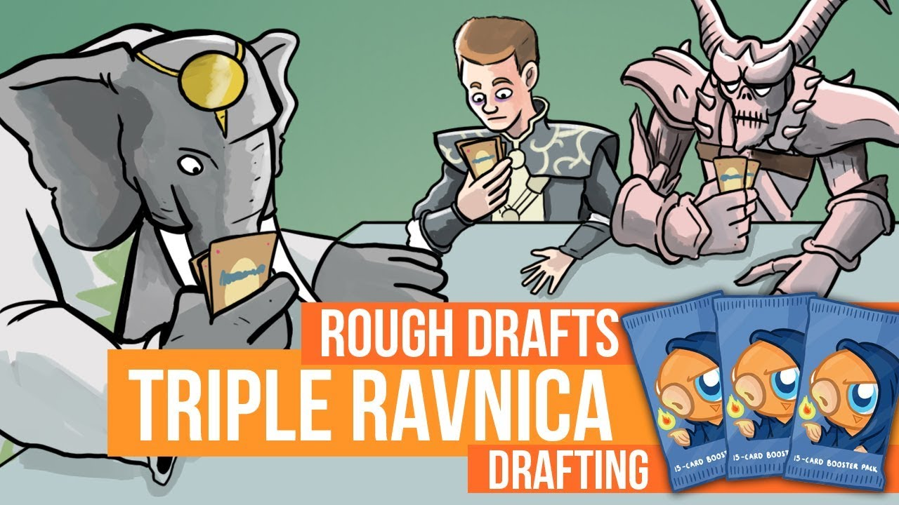 Rough Drafts Triple Ravnica Drafting Youtube