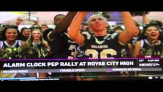 Royse City High School Announcement / Alarm Clock Pep Rally 10-24-14