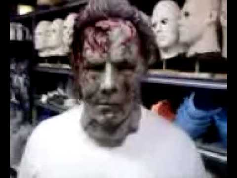 psychopath h2 video test rob zombies halloween 2 michael myers mask youtube - Rob Zombie Halloween Mask For Sale