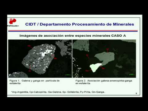 Mineralogy: Analysis tool to increment the recovery of minerals