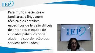 Live: Palestra sobre Cuidados Paliativos com a Psicóloga Carmela Silveira