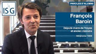 François Baroin (ISG promo 89) à l