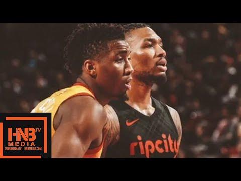Utah Jazz vs Portland Trail Blazers Full Game Highlights / Feb 11 / 2017-18 NBA Season