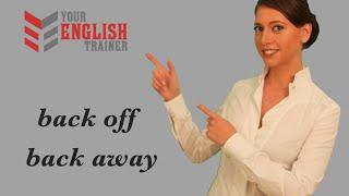 Разговорный английский. Фразовые глаголы. Урок английского языка.