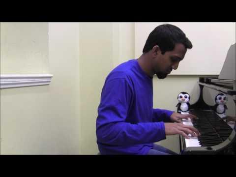 Roshin - Kalayil Dhinamum / Pedave Palikina (piano)