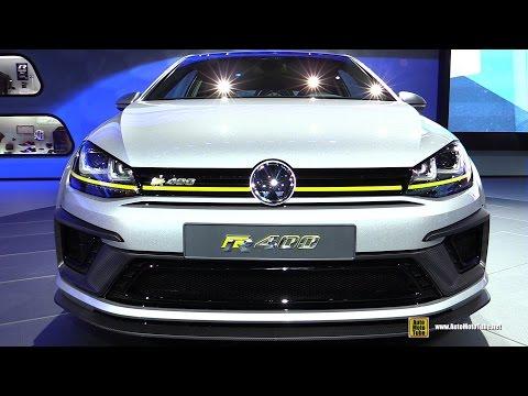 2015 Volkswagen Golf R 400 - Exterior and Interior Walkaround - Debut at 2014 LA Auto Show