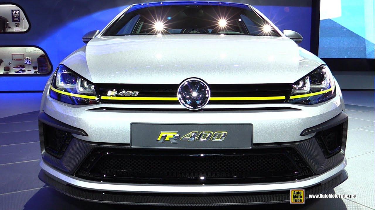 2015 Volkswagen Golf R 400 Exterior And Interior