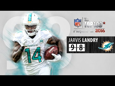 #98: Jarvis Landry (WR, Dolphins) | Top 100 NFL Players of 2016
