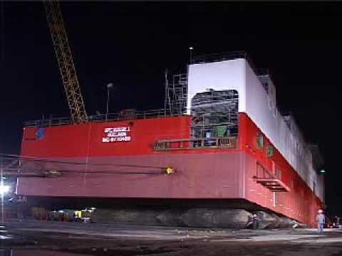 Kim Heng Shipbuilding & Engineering Newbuilt APC Aussie 1 Launching Video