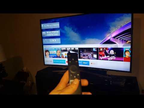 Samsung Curved TV MU6500 Setup And Review