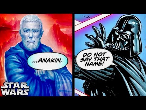 How Obi-Wan's Force Ghost Spoke to Darth Vader After A New Hope! (Legends)