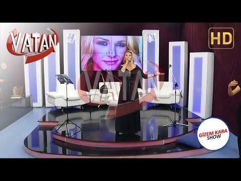 GİZEM KARA SHOW VATAN TV - GİZEM KARA MAVİ MAVİ MASMAVİ