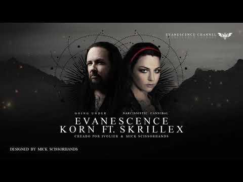 Evanescence - Narcissistic Cannibal & Going Under ft. Korn/Skrillex (Audio) mp3