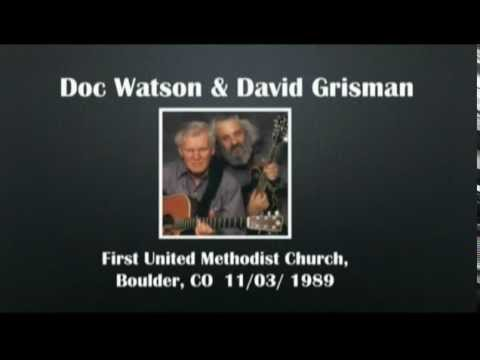 【CGUBA199】Doc Watson & David Grisman 11/03/1989