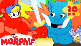 The Giant Rescue - My Magic Pet Morphle | Cartoons For Kids | Morphle TV | Mila & Morphle