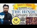 5 JANUARY 2019 The HINDU NEWSPAPER ANALYSIS TODAY in Hindi (हिंदी में) - News Current Affairs  IQ