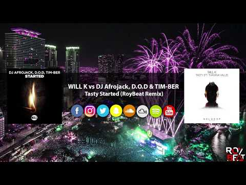 WILL K vs DJ Afrojack, D O D & TIM BER   Tasty Started (RoyBeat Remix)