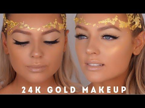 24K GOLD LEAF MAKEUP thumbnail