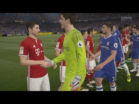 FIFA 17 - Chelsea F.C. v FC Bayern Munich Gameplay [1080p 60FPS HD]