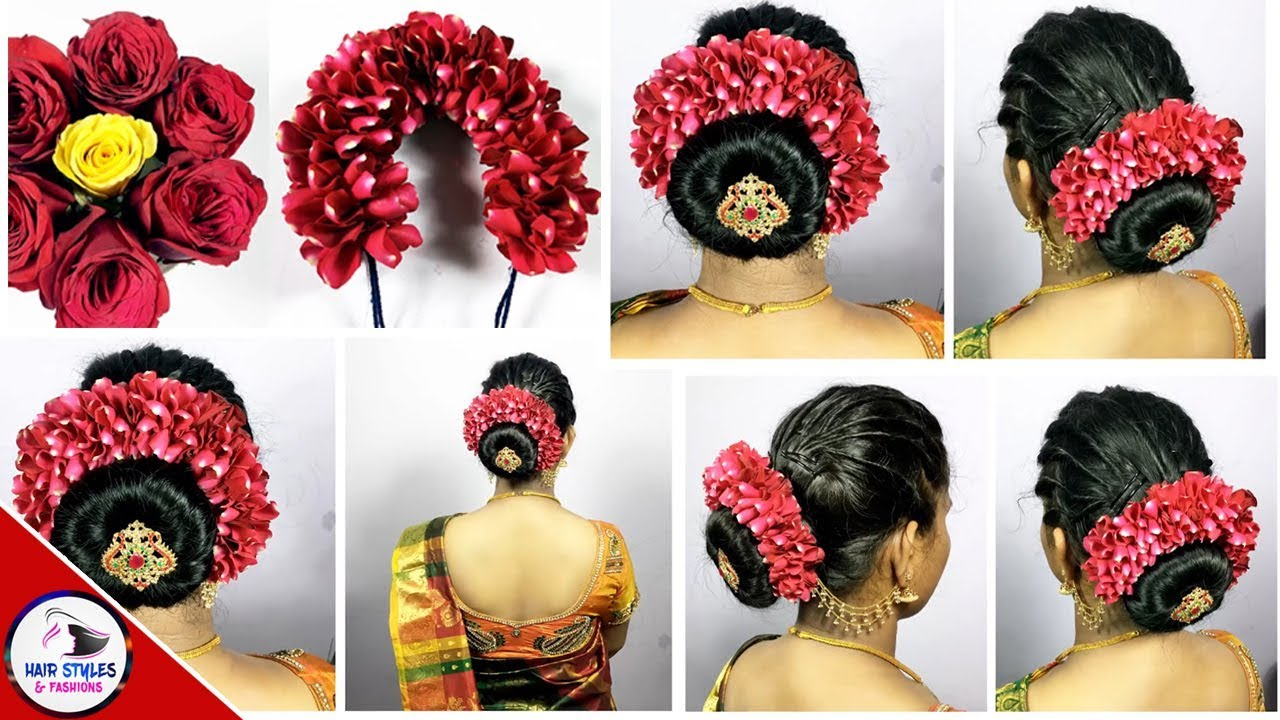 South indian wedding guest hairstyles kerala | Hairstyle ...