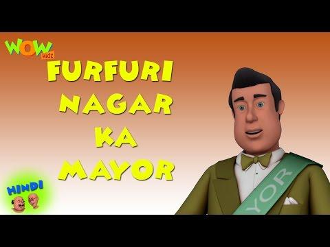 Furfurinagar Ka Mayor - Motu Patlu in Hindi WITH ENGLISH, SPANISH & FRENCH SUBTITLES thumbnail