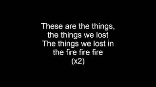 Bastille - Things We Lost in the Fire Lyrics Mp3